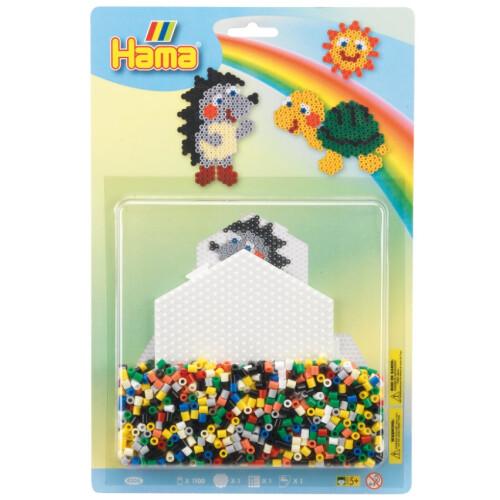 Hama Beads 4206 Hedgehog & Turtle Large Blister Pack
