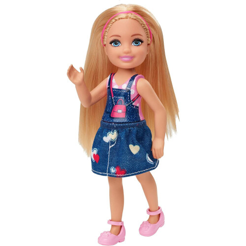 Barbie Club Chelsea Doll in Heart Outfit