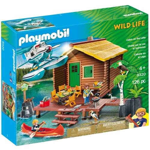 Playmobil 9320 Wildlife Cabin on the Lake