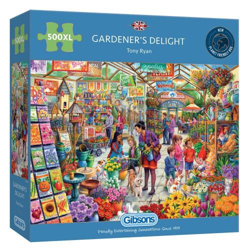 Gibsons Gardener's Delight 500pc XL Puzzle