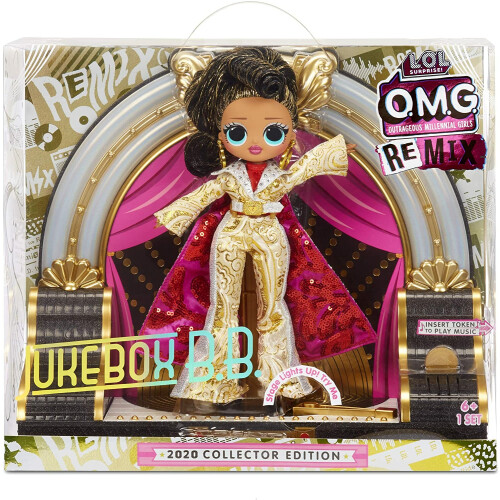 L.O.L. Surprise! O.M.G. Remix Jukebox B.B. 2020 Collector Edition
