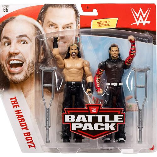 WWE Battle Pack - Series #65 - Jeff Hardy & Matt Hardy
