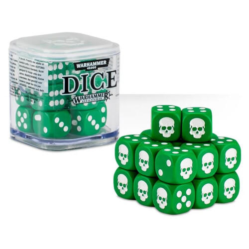 Warhammer Accessories - Citadel Dice Cube: Green