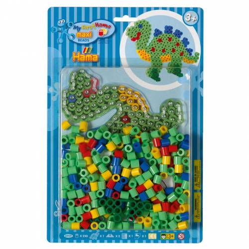 Hama Beads Maxi 8909 Dinosaur Bead Kit