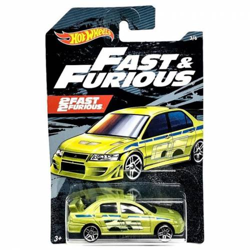 Hot Wheels Fast & Furious - Mitsubishi Lancer Evolution