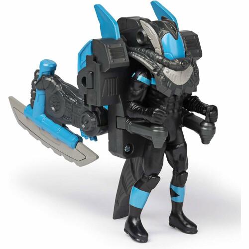 Batman 4 Inch Figure Series - Nightwing Mega Gear