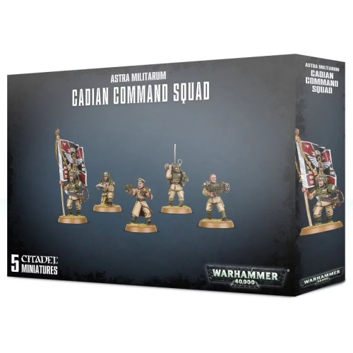 Warhammer 40,000 - Astra Militarum Cadian Command Squad