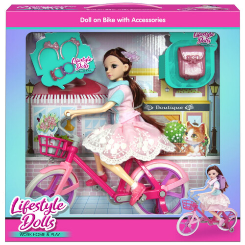 Lifestyle Dolls - Bicycle Set & Accessories