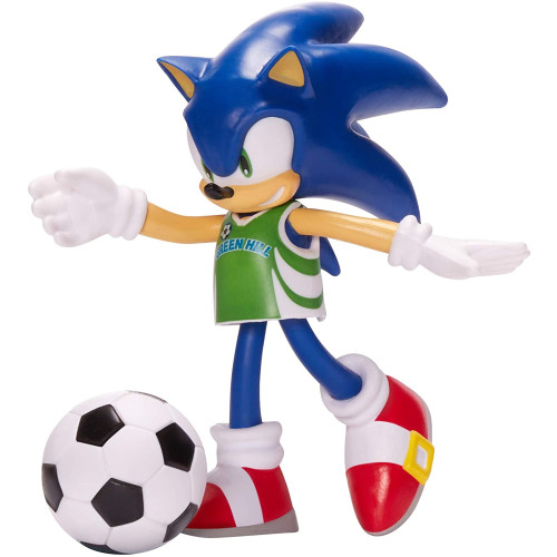 Sonic The Hedgehog Bendable Figure - Sonic with Football