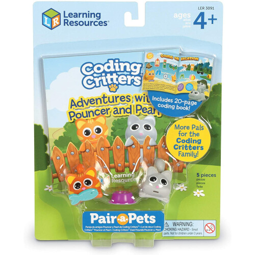Coding Critters Pair-a-Pets Pouncer & Pearl