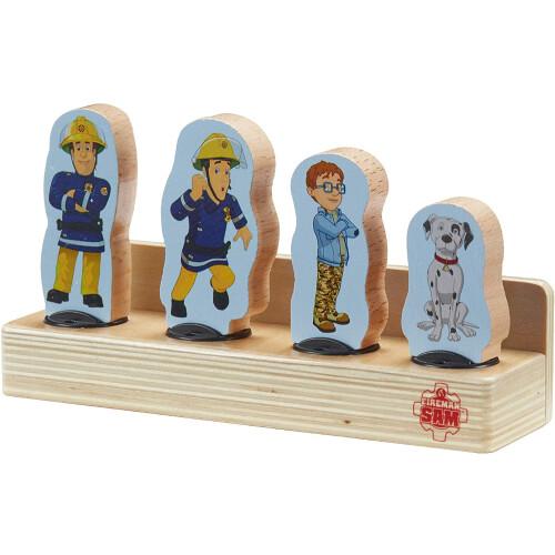 Fireman Wooden Figure Set