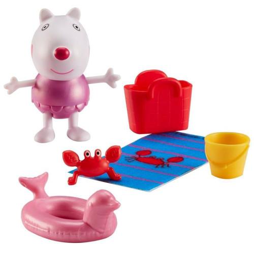 Peppa Pig Beach Theme Figure & Accessories - Suzy