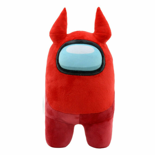 Among Us 12 Inch Plush - Red with Horns