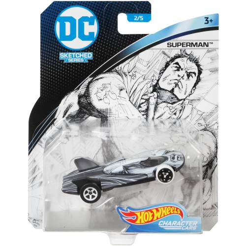 Hot Wheels DC Character Cars - Superman