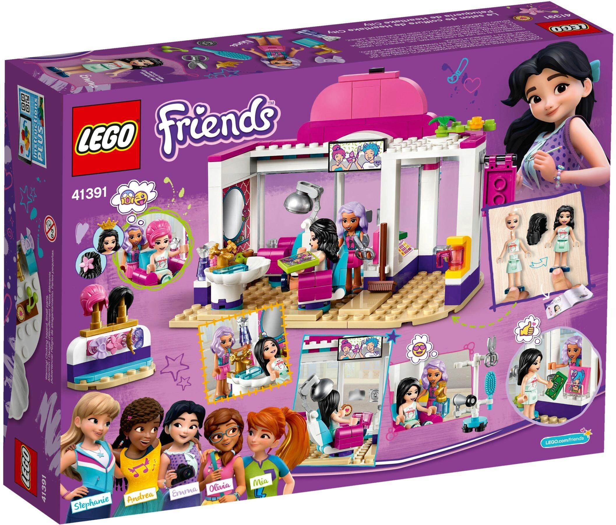 Lego 41391 Friends Heartlake City Hair Salon   Toys n Tuck