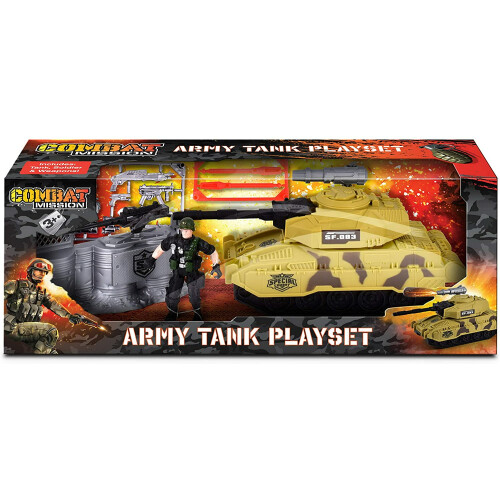Combat Mission Military Set - Army Tank