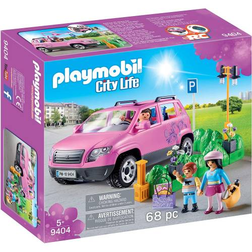 Playmobil 9404 City Life Family Car with Parking Space