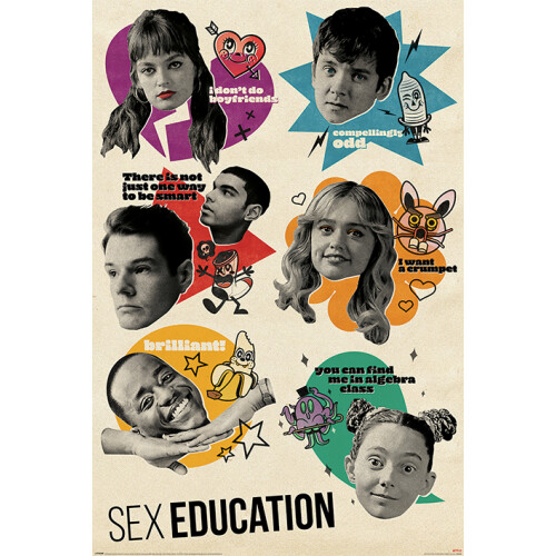 Maxi Posters - Sex Education (Don't Quote Me on That)