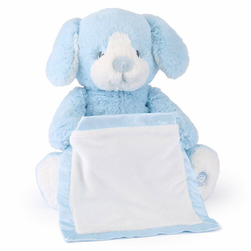 Gund Talks and Plays - Peek-A-Boo Puppy Blue