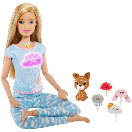 Barbie Breath With Me Meditation Doll
