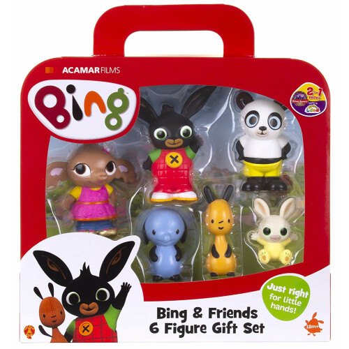 Bing & Friends 6 Figure Gift Set