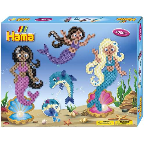 Hama Beads 3150 Large Gift Box Mermaids
