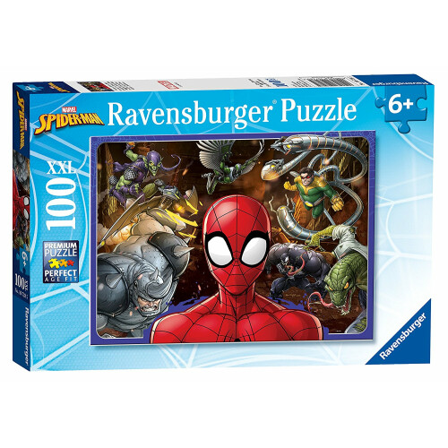 Ravensburger 100 XXL Piece Puzzle Marvel Spiderman