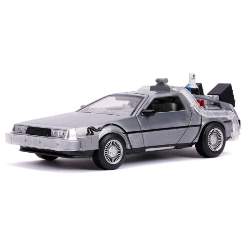 Back to the Future Time Machine 1:24 Die Cast