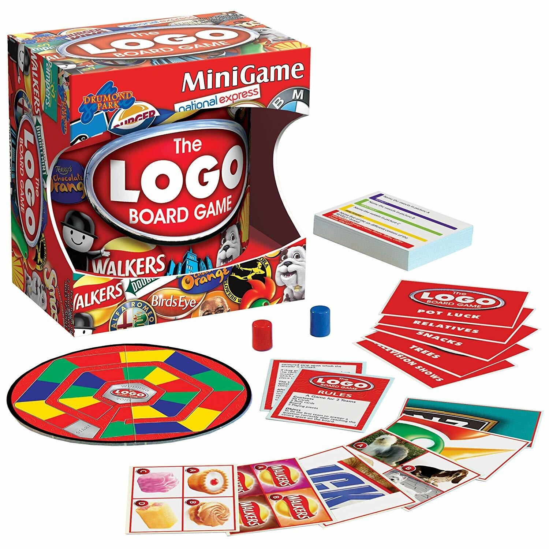 The Logo Board Game Mini Game | Toys n Tuck
