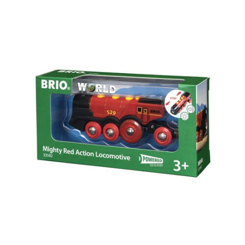 Brio 33592 Mighty Red Action Locomotive