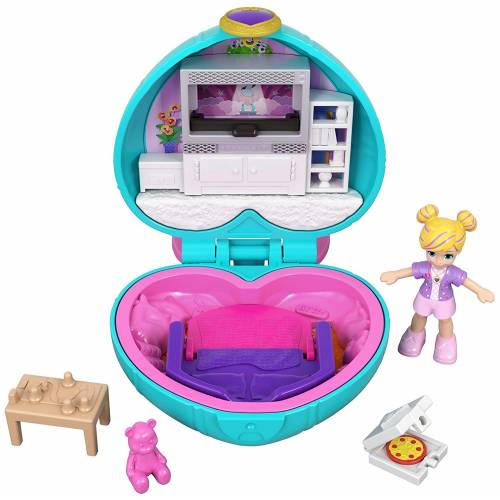 Polly Pocket Tiny Pocket World Sleepover