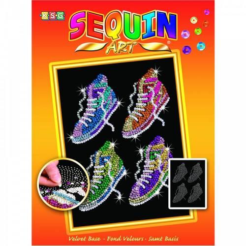 Sequin Art Ltd. Sequin Art Orange Street Feet 1514