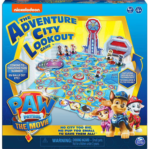 Paw Patrol The Movie - The Adventure City Lookout Game
