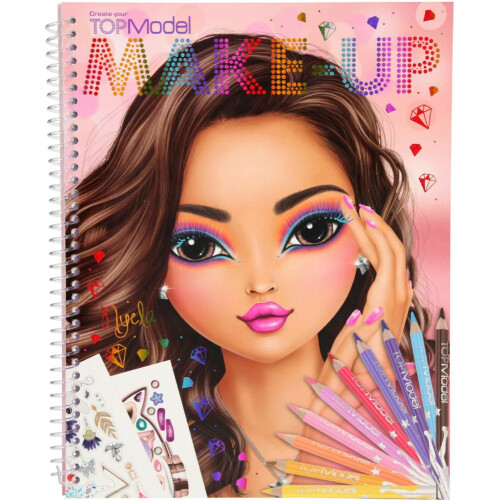 Depesche Top Model Create Your Make-up Book