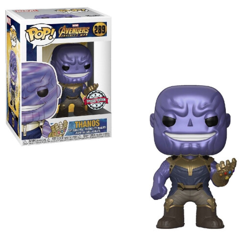 Funko Pop Vinyl - Avengers Infinity War - Thanos