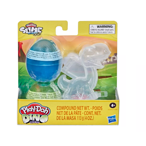 Play-Doh Slime Hydro Glitz Dino Crew Eggs & Dinosaur Bones Brontosaurus