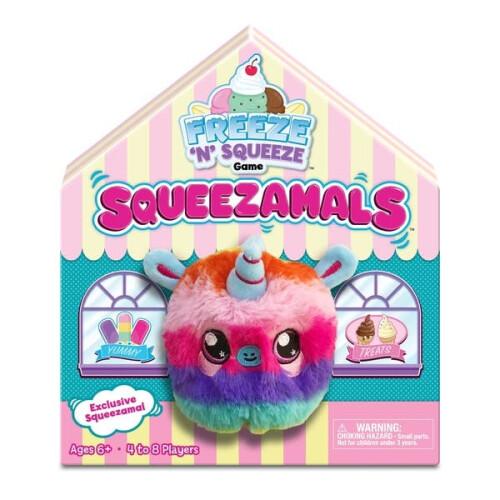 Squeezamals Freeze 'N' Squeeze Game - Rainbow Unicorn