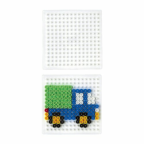 Hama Beads Single Pegboard 220 Small Square