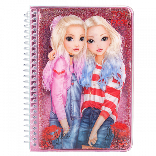 Depesche Top Notebook - June & Jill Pink