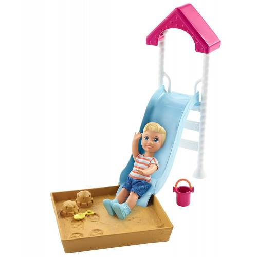 Barbie Skipper Babysitters INC Slide Playset