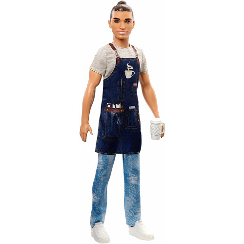 Barbie You Can Be Anything - Barista Ken