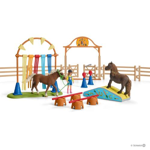 Schleich Farm Life 42482 Pony Agility Training