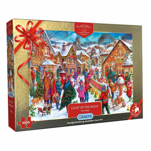 Gibsons Light Up The Night 1000 Piece Jigsaw Puzzle