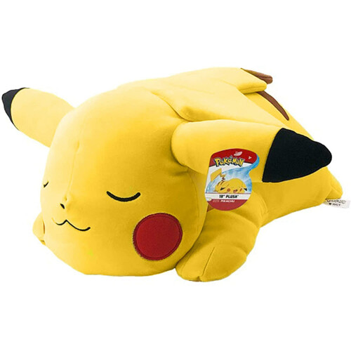 Pokemon 18 Inch Plush - Sleeping Pikachu