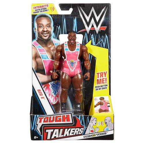 WWE Tough Talkers Figure - Big E