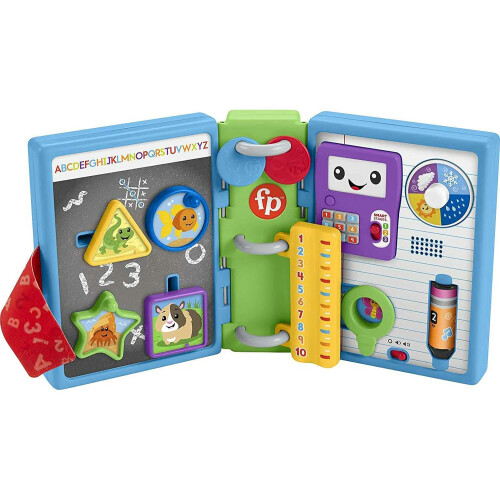 Fisher Price Laugh & Learn 123 Schoolbook