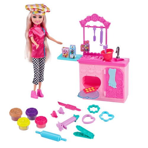 Sparkle Girlz Bake Off Toy Dough Kitchen