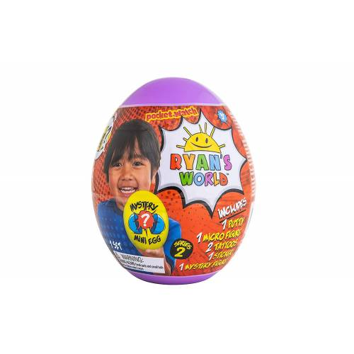 Ryan's World Mystery Mini Egg Series 2