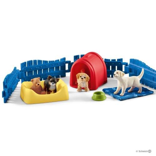 Schleich Farm Life 42480 Puppy Pen