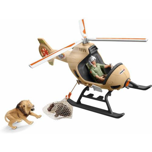 Schleich Wild Life 42476 Animal Rescue Helicopter